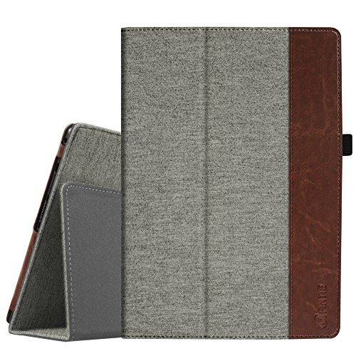 Fintie Case for Lenovo Tab 4 10 / Lenovo Tab 4 Plus 10 / AT&T Lenovo Moto Tab 10.1-Inch Tablet - Premium PU Leather Folio Cover with Auto Sleep/Wake, Denim Grey