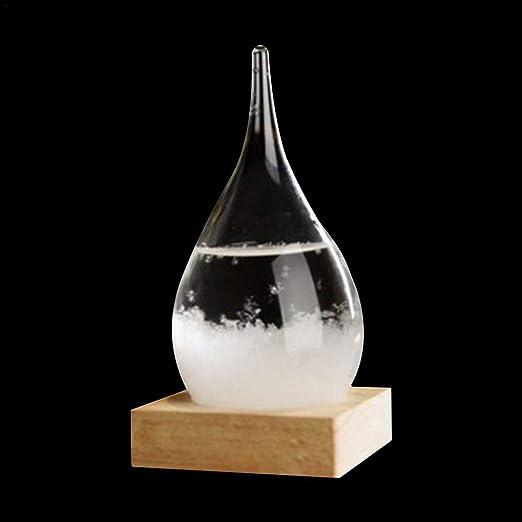 Botella de Vidrio con barómetro para decoración de ...