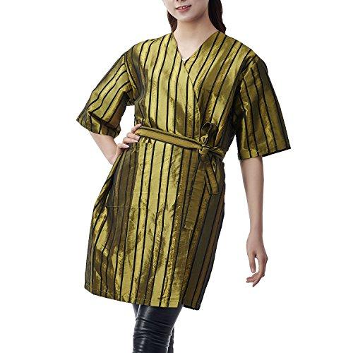 Colorfulife Salon Client Gown Robe Strape Smock Kimono Ha...