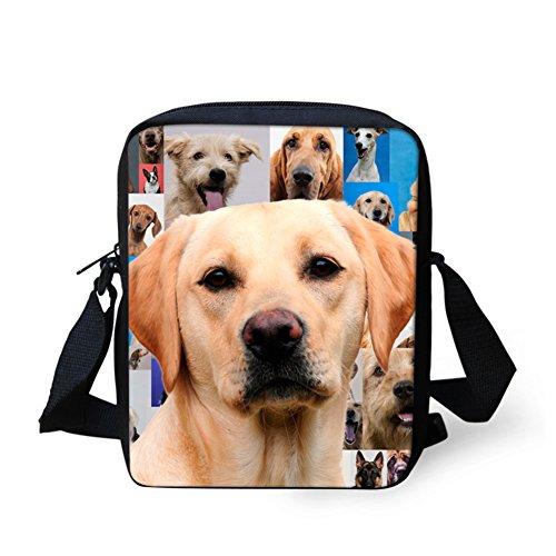 Pattern Small IDEA Women's Handbag Bags Cute Mini Retriever Dog HUGS Labrador Shoulder Messenger g4HqWwSx