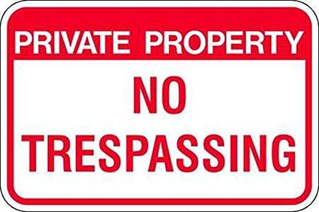 Zing 2498 Eco señal de prohibido aparcar, propiedad privada ...