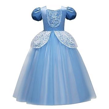 Fymnsi Cinderella Kostum Kleid Fur Kinder Madchen Marchen