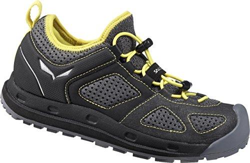 SALEWA JR SWIFT - Zapatillas De Deporte Para Exterior de material sintético infantil Negro / Amarillo   (Black / Yellow 0903)