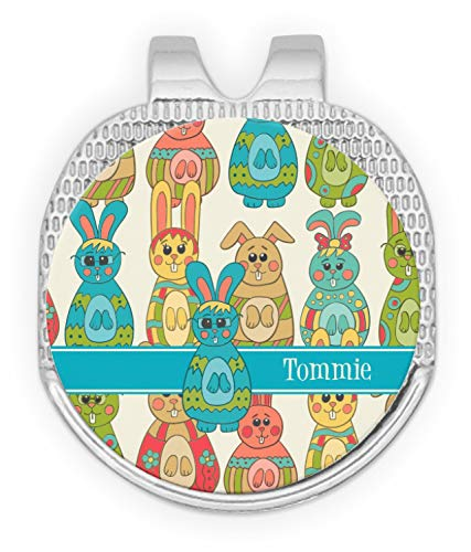 YouCustomizeIt Fun Easter Bunnies Golf Ball Marker - Hat Clip (Easter Bunny Clip)