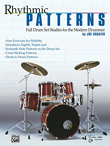 Rhythmic patterns full drum set studies for the modern drummer rhythmic patterns full drum set studies for the modern drummer by cusatis joe fandeluxe Image collections