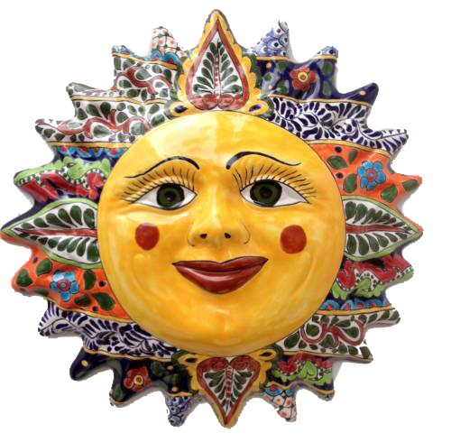 Talavera Sun Face - 20.50
