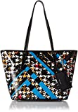 Nine West Ava Tote Tote Jewel Teal Multi/Black