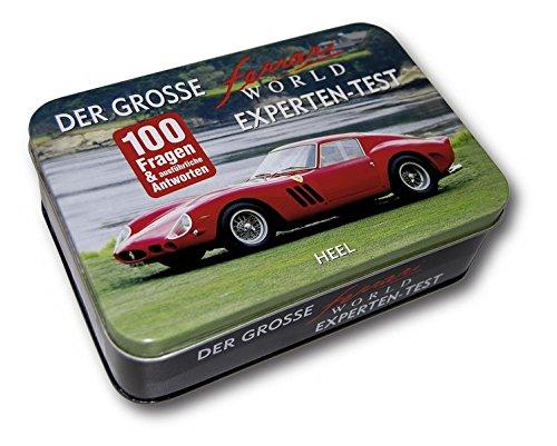 Der große Ferrari World Experten-Test: 100 Fragen und ausführliche Antworten. Quizbox mit 50 Spielkarten.