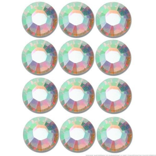 Swarovski Flatback Rhinestone #2028 Ss9 Crystal Ab -