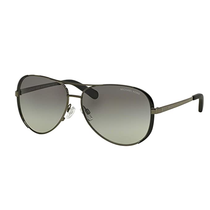 047070e902 Image Unavailable. Image not available for. Colour  Michael Kors Women s  Gradient Chelsea MK5004-101311-59 Black Aviator Sunglasses