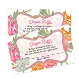 Baby Shower Book Request Cards or Diaper Raffle Inserts Baby Shower Games (Diaper Raffle)