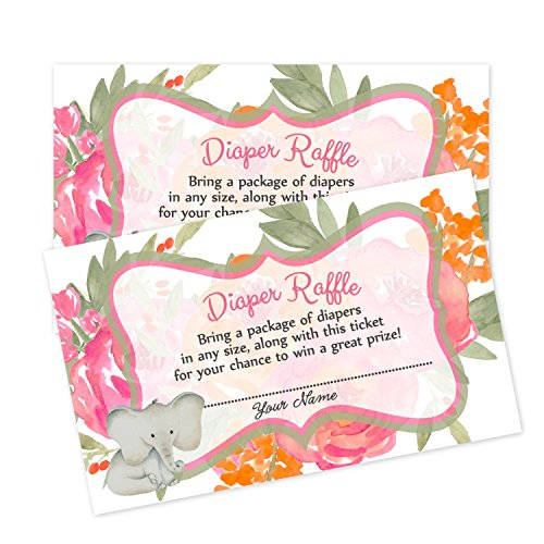 Baby Shower Book Request Cards or Diaper Raffle Inserts Baby Shower Games (Diaper Raffle) by VIP Invitation Studio