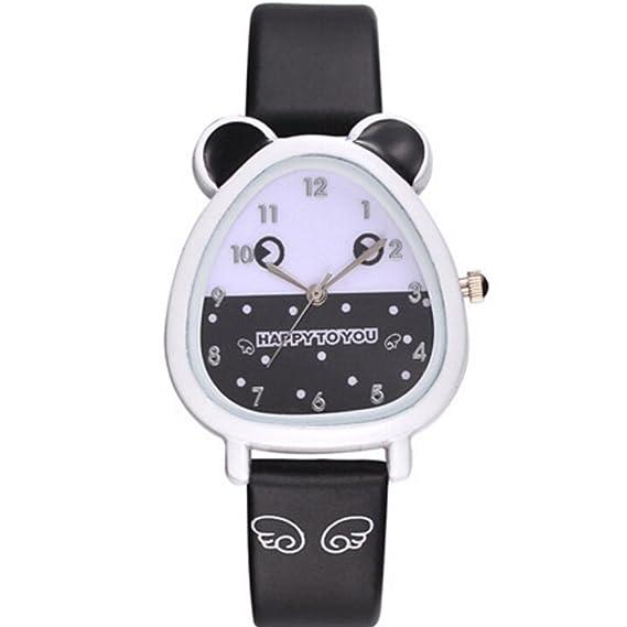 EARS Kinderuhr Lovely Animal Design Boy Girl Children Quartz Watch Kids Birthday Gift Schwarz Amazonde Uhren