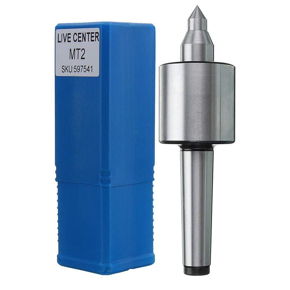 MT2 Live Center Morse Taper Precision 0.000197/'/' CNC Long Spindle Lathe Tool 2MT