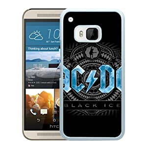AC DC Black Ice White New Recommended Design HTC ONE M9 Phone Case