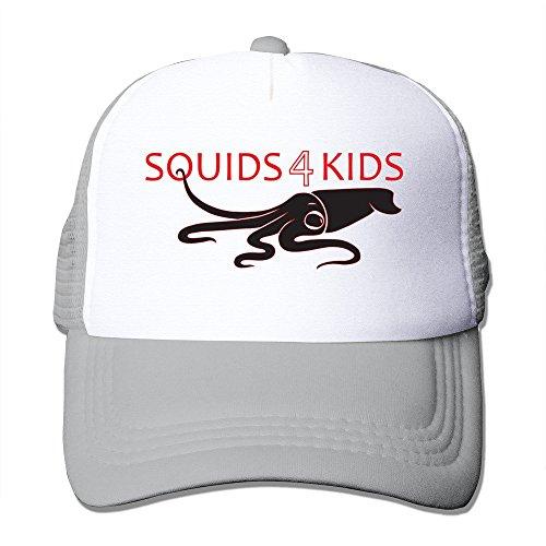 Unisex Custom Adjustable Beautiful Squid Baseball Hat One Size