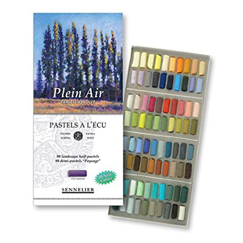 Sennelier Soft Pastels- Half Stick Set of 80 Landscape Colors