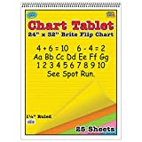 Top Notch Teacher TOP3820BN Chart Tablet 24X32, 1.5 Inch Ruled, MultiPk 2 Each