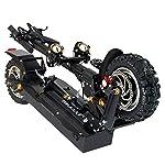 GUNAI-Monopattino-Elettrico-Pieghevole-10-Pollici-Scooter-da-Citt-con-Sedile-Doppio-Motore-da-2000W-con-LED-e-Display-HD-Batteria-al-Litio-52V-236AhBlack