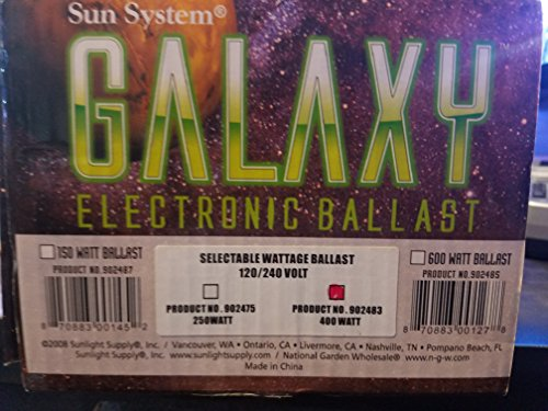 Sun System Galaxy 150w Electronic Ballast ()