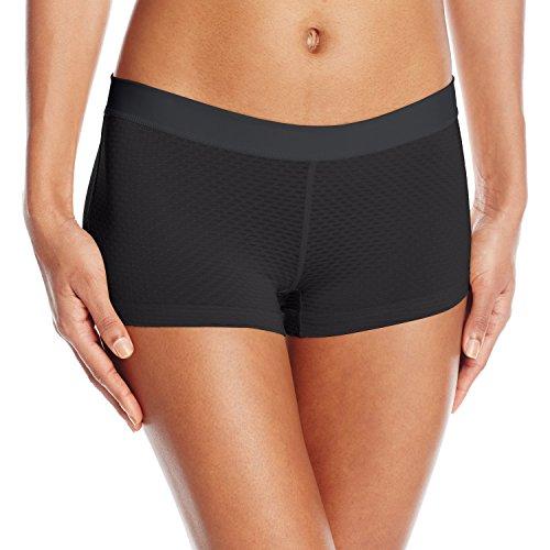 Free ExOfficio Women's Give-n-Go Sport Mesh 2'' Underwear, Black, X-Large