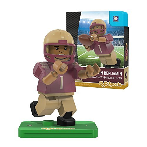 NCAA Florida State Seminoles Kelvin Benjamin Gen 2 Player Mini Figure, Small, Black