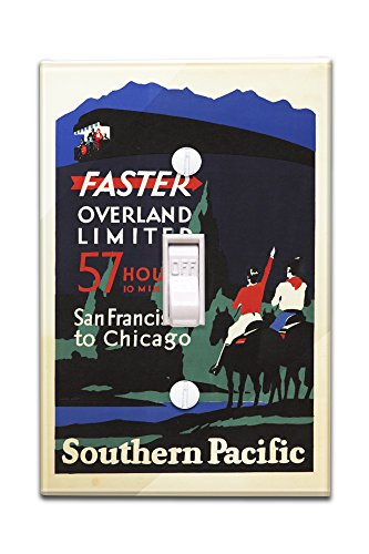 southern-pacific-overland-limited-vintage-poster-artist-bee-conie-c-1930-light-switchplate-cover