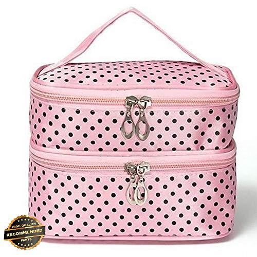 Gatton Travel Cosmetic Bag Makeup Case Multifunction Toiletry Zipper Wash Organizer   Style TRVIHR-11291947 ()