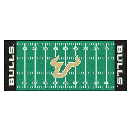 NCAA University of South Florida Bulls Football Field Runner Mat Area - Central Runner Florida