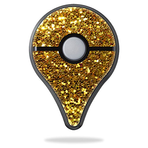 Price comparison product image Skin For Pokemon Go Plus – Gold Dazzle | MightySkins Protective, Durable, and Unique Vinyl Decal wrap cover | Easy To Apply, Remove, and Change Styles | Made in the USA