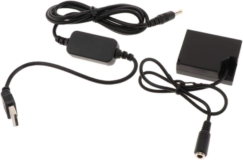 Cable para Fuji X-A2 X-A3 X-E2 X-E2S X-M1 X-Pro1 X-Pro2 Homyl CP-W126 DC Coupler
