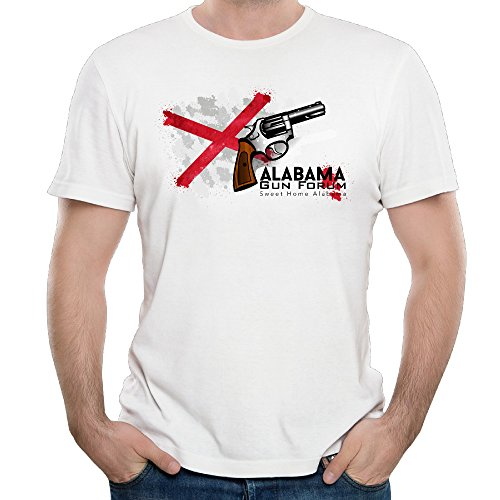 Men's AGF Alabama Gun Forum Sweet Home Logo Adult T-shirt