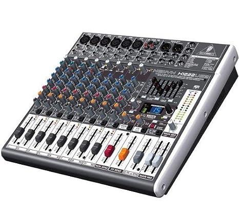 Behringer X1222USB 4 Channels mesa de mezclas audio - Mesas de ...