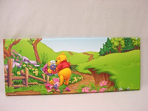 CUADRO PLOTTER CANVAS MADERA INFANTIL GRANDE DISNEY OSITO WINNIE ...