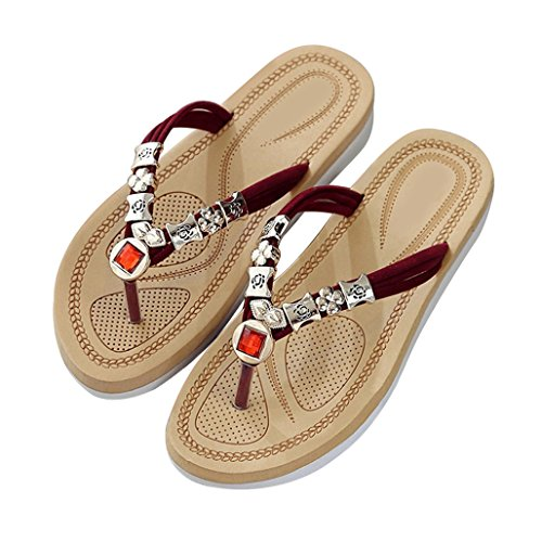 Damesmode Strand Sandalen Platte Slipper Slippers Flip-flops Zomerschoenen