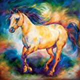 Westland Giftware Marcia Baldwin Canvas Wall Art, 15 by 15-Inch, Equine