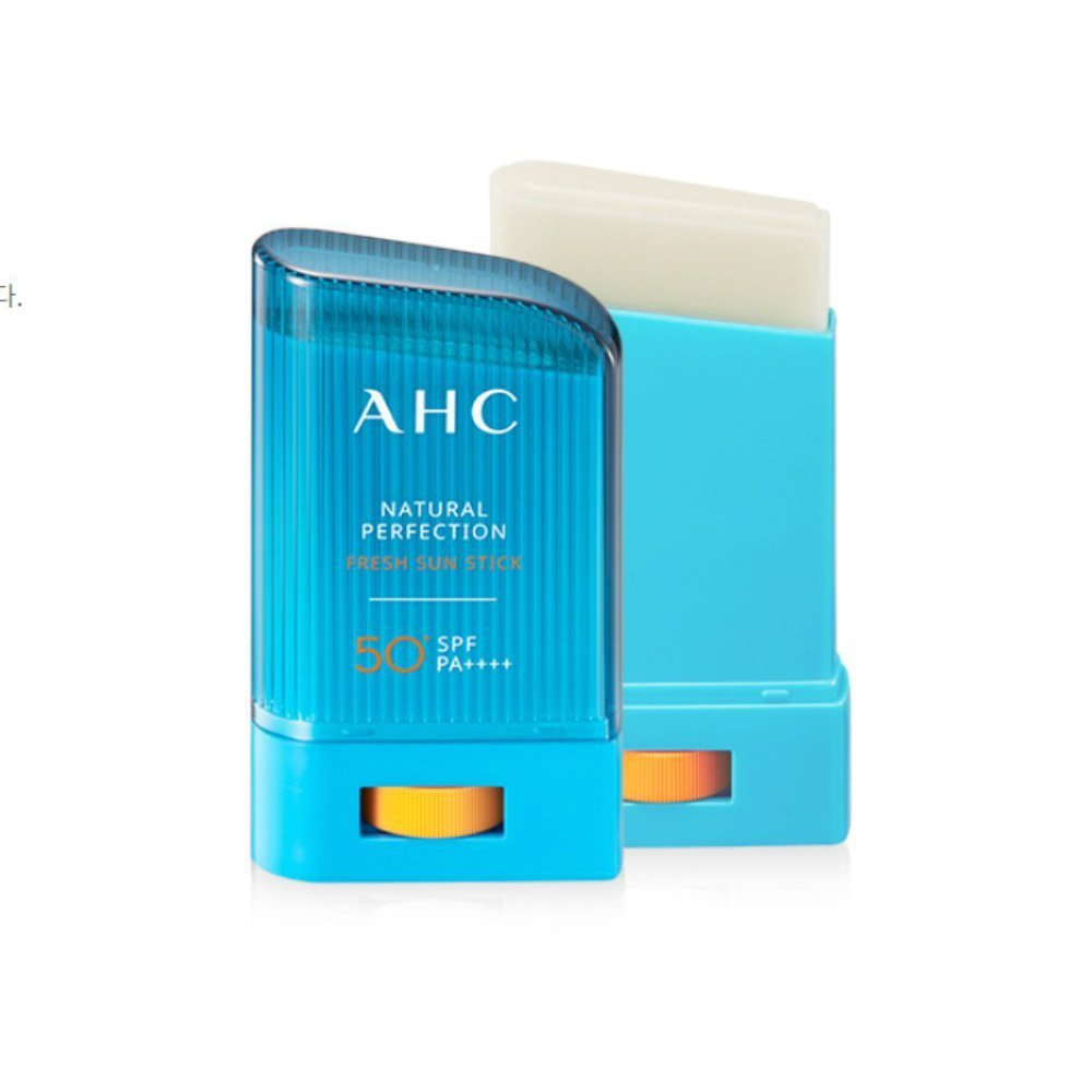 New A.H.C [AHC] NATURAL PERFECTION FRESH SUN STICK 50+/SPF PA++++ 2018 version