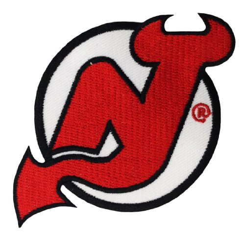 New Jersey Devils Logo Embroidered Iron Patches