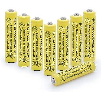Amazon Com Qblpower 1 2v Aaa Nicd 600mah Triple A