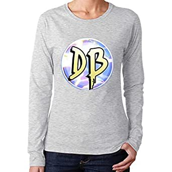 Amazon.com: Women's Dangie Bros Long-Sleeved Round Neck ...