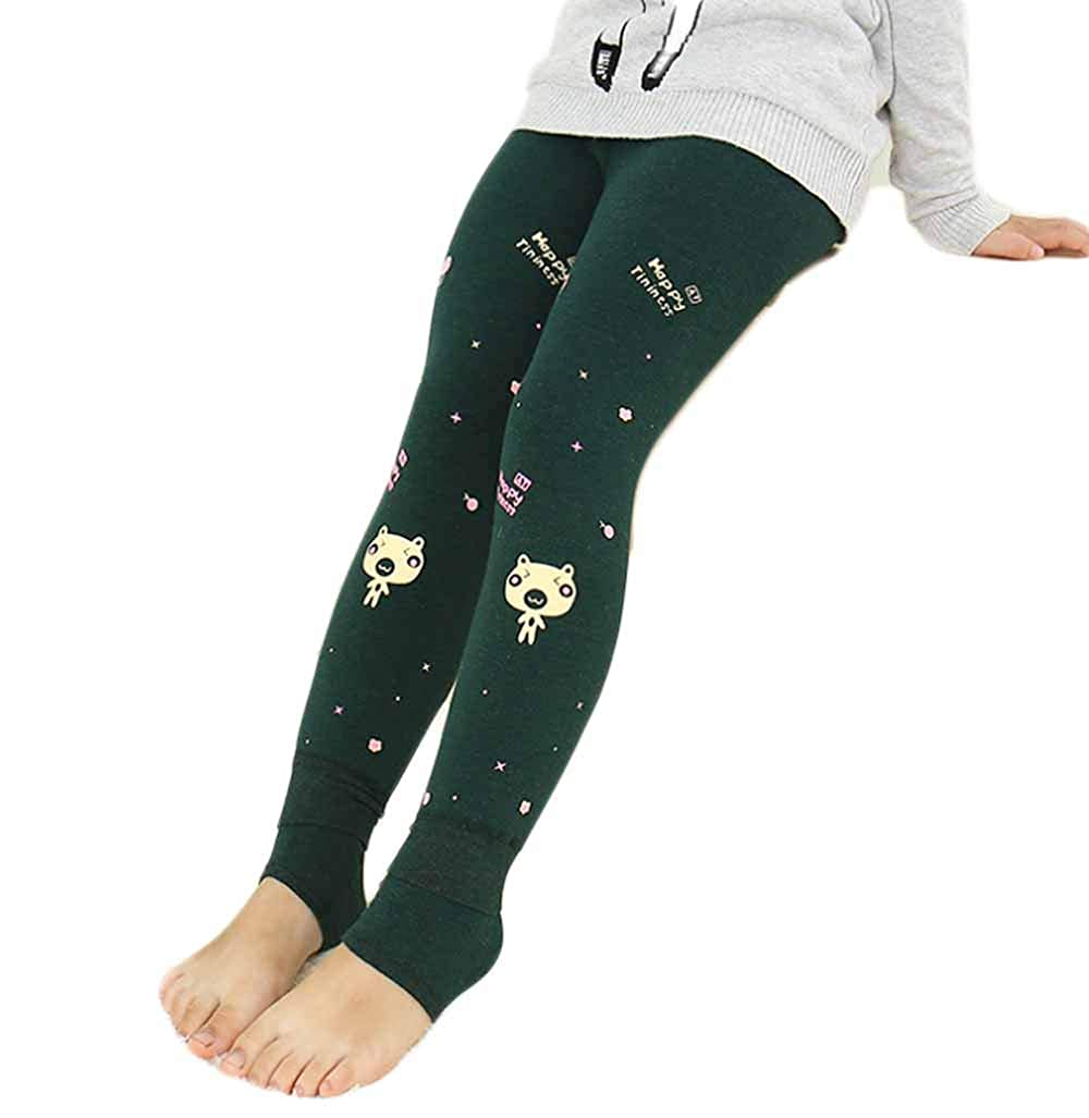 PanpanBox Termico Leggings Bambine Inverno Pantaloni Ragazze Pants Elastico Jeggings Stretch Pantalone 2-10 anni