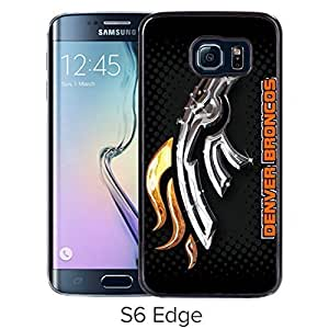 Lovely and Nice Samsung Galaxy S6 Edge Case Design with Denver Broncos 2 Black Case for Samsung Galaxy S6 Edge by icecream design
