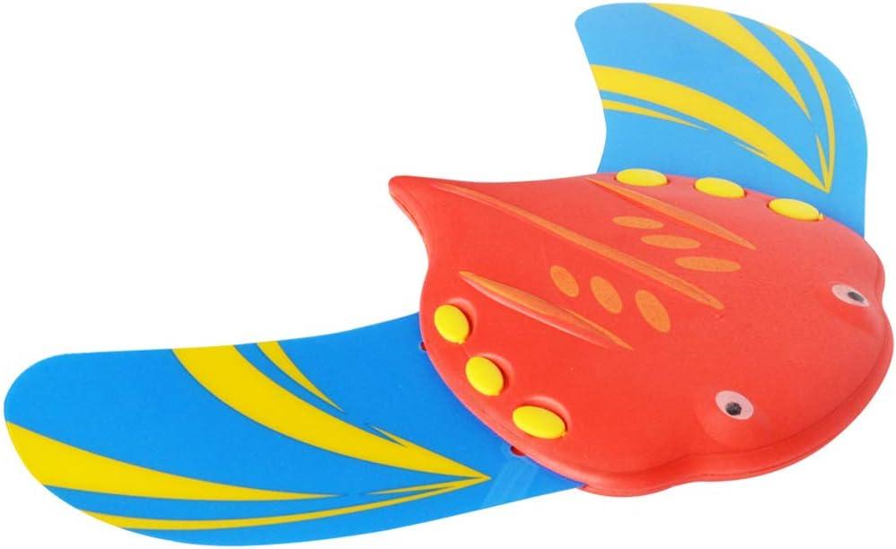 LUYION Natación Peces Hidrodinámicos Rayos Demonios Impulsión Palos Potencia de Agua Juguetes robóticos de plástico para Nadar