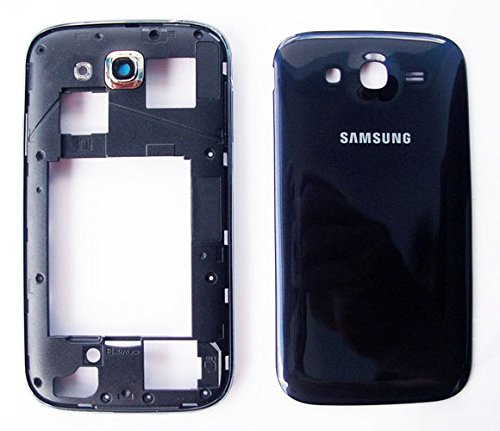 2b0aebfb484 Image Unavailable. Image not available for. Colour: Middle Plate Frame for Samsung  Galaxy Grand Duos i9082 Blue Back ...