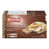 RYVITA Rye and Oat Bran Crispbread, 12-Count
