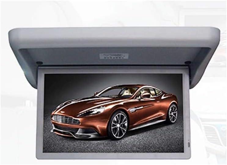 Protección contra la radiación Monitor de TV para automóvil Techo Pantalla Grande TFT de 18.5 Pulgadas HD 1080P Adecuado para HDMI SD FM PAL NTSC Operación de Video,Gris: Amazon.es: Deportes y aire