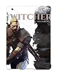 Case For Ipad 2/3/4 Tpu Phone Case Cover(the Witcher 3 Wild Hunt) For Thanksgiving Day's Gift