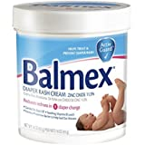 Balmex Diaper Rash Cream With Zinc Oxide 16 oz