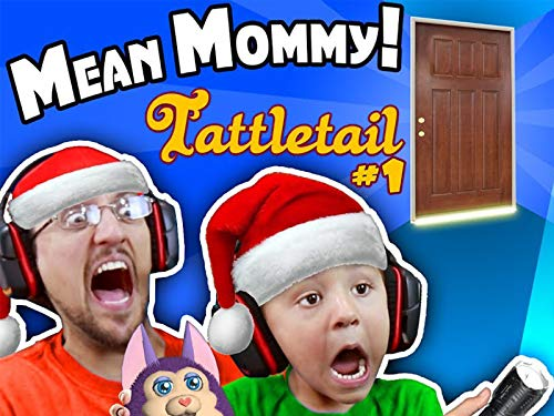 Worst Mom Ever! Scary Tattletail Christmas In July With Bad Furby Present 4 Spoiled Kid!