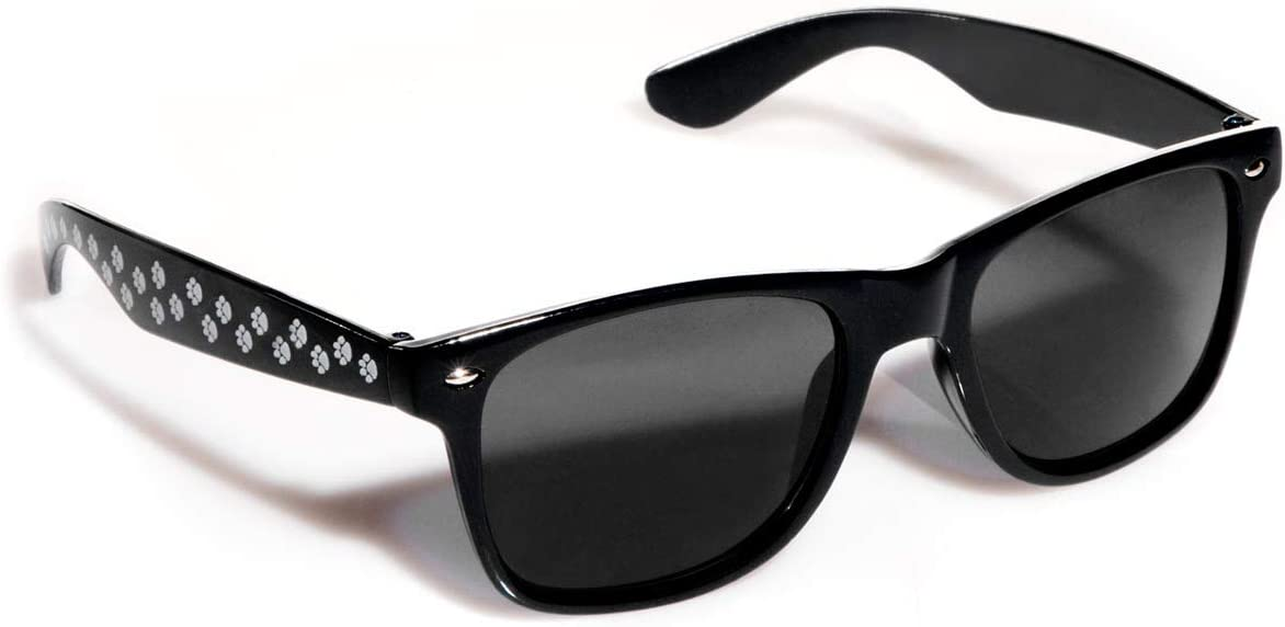 Sunglasses with Paw Print Design, Black - Pack of 2